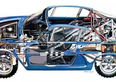 Alpine-A110-cutaway 2